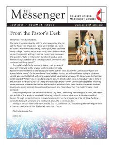 July Messenger