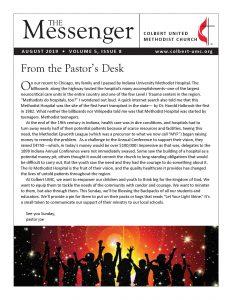 August Messenger